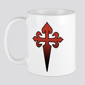 Dagger and Cross Mug