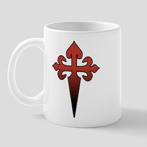 Dagger and Cross Mug