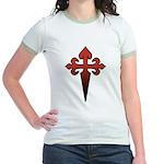 Dagger and Cross Jr. Ringer T-Shirt