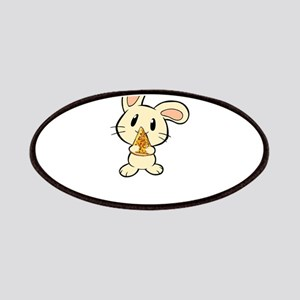 Pizza Rabbit Design Bunny Rabbit Print Art G Patch