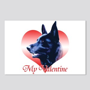 Black Shep Valentine Postcards (Package of 8)