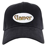 Gamer (Gold) Black Cap