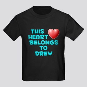 This Heart: Drew (E) Kids Dark T-Shirt