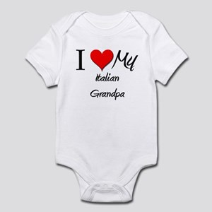 I Love My Italian Grandpa Infant Bodysuit