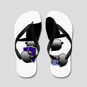 poker Flip Flops