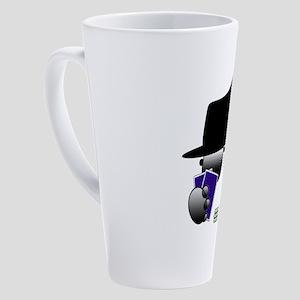 poker 17 oz Latte Mug