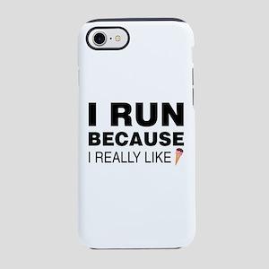 I Run Because I Like Ice Cre iPhone 8/7 Tough Case