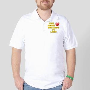 This Heart: Lena (D) Golf Shirt