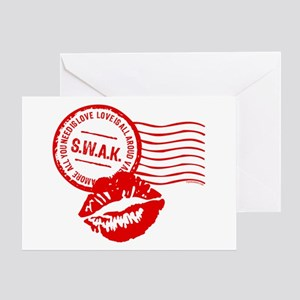 Love Stamp Greeting Card