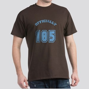 Officially 105 Dark T-Shirt
