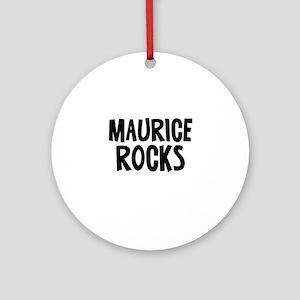 Maurice Rocks Ornament (Round)