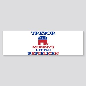 Trevor - Mommy's Little Repub Bumper Sticker