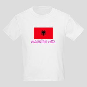 Albanian Girl Kids Light T-Shirt
