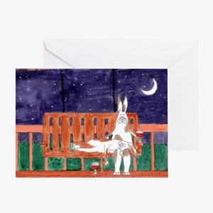 Starry Night Card (blank inside)