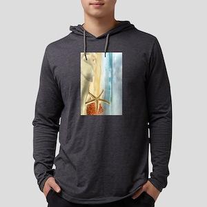 Starfish on Beach Long Sleeve T-Shirt