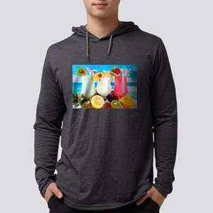 Exotic Summer Cocktails Long Sleeve T-Shirt