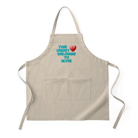 This Heart: Elvis (E) BBQ Apron