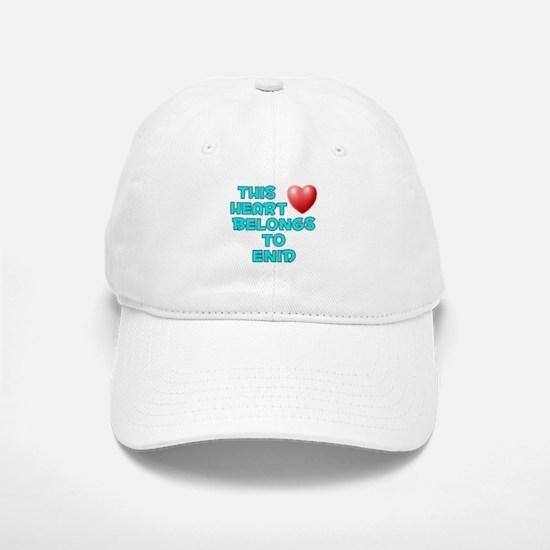 This Heart: Enid (E) Baseball Baseball Cap