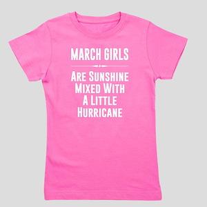 March Girls Are Sunshine Mixed With A Litt T Shirt