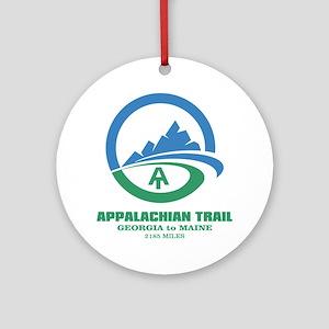 Appalachian Trail Round Ornament