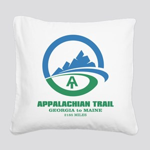 Appalachian Trail Square Canvas Pillow