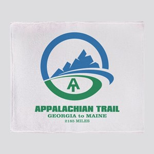 Appalachian Trail Throw Blanket