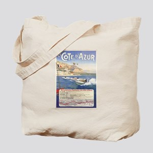 Vintage French Boat Race Tote Bag