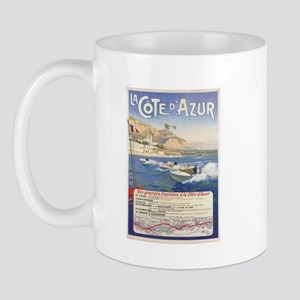 Vintage French Boat Race Mug