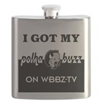 Polka Buzz Flask