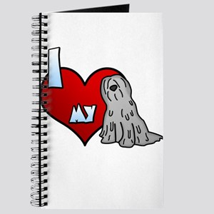 Love Grey Bergamasco Journal