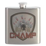 Beat The Champ Flask