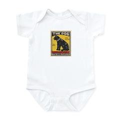 The Dog Matchbox Label Infant Bodysuit