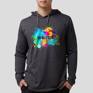 NEW YORK BURST Long Sleeve T-Shirt
