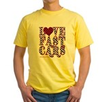 Fast Cars Yellow T-Shirt
