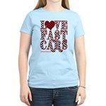 Fast Cars Women's Light T-Shirt