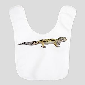 Leopard Gecko Polyester Baby Bib