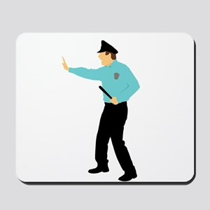 Police Man Mousepad