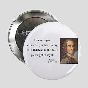 "Voltaire 1 2.25"" Button"