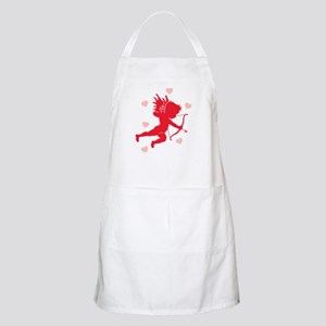 Cupid and Hearts BBQ Apron