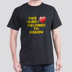 This Heart: Mandy (D) Dark T-Shirt