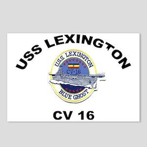 USS Lexington CV 16 Postcards (Package of 8)
