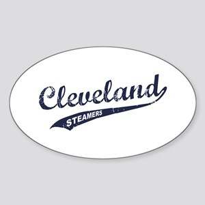 Cleveland Steamers Oval Sticker