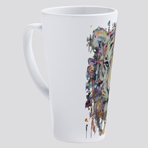 Color Tiger 17 oz Latte Mug