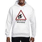 Witchcraft Warning Hooded Sweatshirt