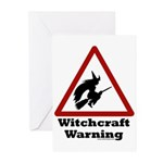 Witchcraft Warning Greeting Cards (Pk of 10)