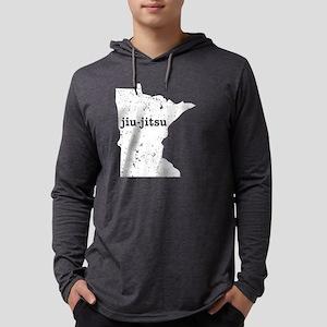 Jiu Jitsu Drill Shirt Minnesot Long Sleeve T-Shirt