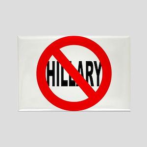 Anti Hillary Clinton Rectangle Magnet
