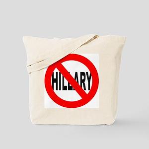 Anti Hillary Clinton Tote Bag