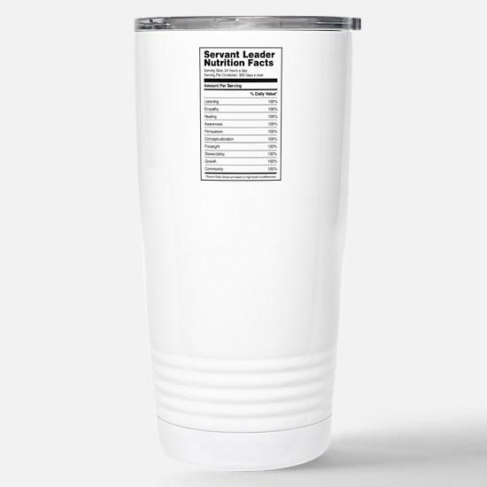 16 Oz Stainless Steel Servant Leader Travel Mugs