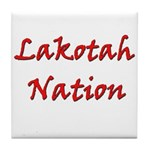 Lakotah Nation Tile Coaster